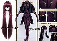 【即納】Fate/Grand Order フェイト・グランドオーダース風 カサハ風 ランサー/スカサハ +ウィッグコスプレ衣装