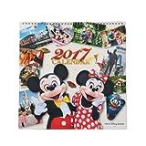ディズニー 2017年壁掛けカレンダー 写真 ミッキーマウス ミニーマウス 2017年カレンダー Disney 【東京ディズニーリゾート限定】