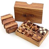 ROCKS MOTION・Wood Puzzle(ロックスモーション・ウッドパズルセット・6+1)