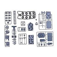 Fityle 1:72スケール 車モデル 軍用車両モデル 子供 モデル ビルディングキット 全2選択 - #1