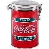 コカ・コーラ キャニスター缶 メタリックレッド PAUSE REFRESH