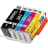 キャノン BCI-381 BCI-380XL 大容量 5色パック Canon 互換 インク カートリッジ BCI-381+380 5MP TS6130 TS6230 TR9530 TR8530 TR7530 TS8130 TS8230 starink