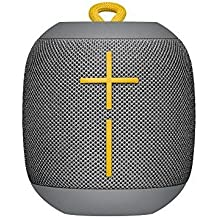 Ultimate Ears WONDERBOOM Super Portable Waterproof Bluetooth Speaker Grey (Renewed)