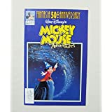 【FANTASIA 50th ANNIVERSARY WALT DISNEY'S MICKEY MOUSE ADVENTURES (ミッキー・マウス/ファンタジア)】 #9 中古アメコミ <1991年> ディズニー