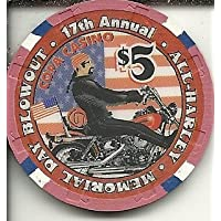 $ 5 Copaカジノ17th AnnualすべてHarley Memorial Day Gulfport、ミシシッピカジノチップObsolete Riverboat ?
