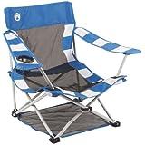 Coleman 1358552 Beach Chair (Blue & White Striped)