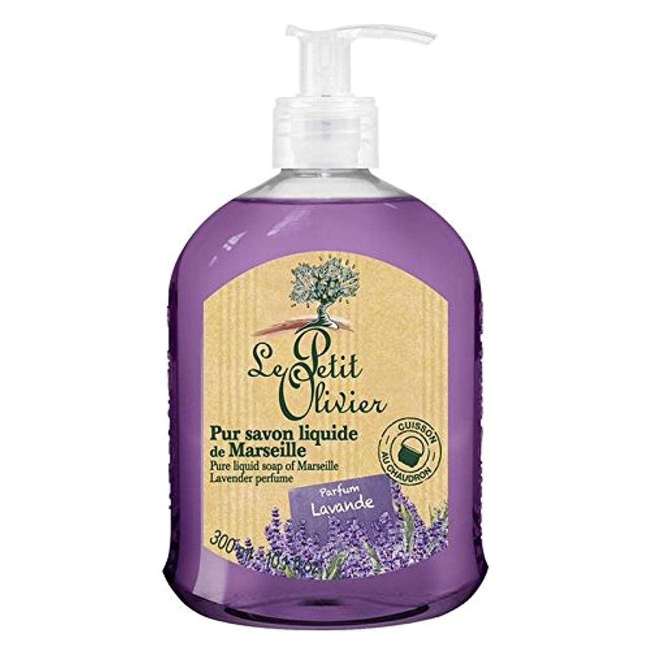 カタログ未亡人見つけたマルセイユのル?プティ?オリヴィエ純粋な液体石鹸、ラベンダー300ミリリットル x4 - Le Petit Olivier Pure Liquid Soap of Marseille, Lavender 300ml (Pack...