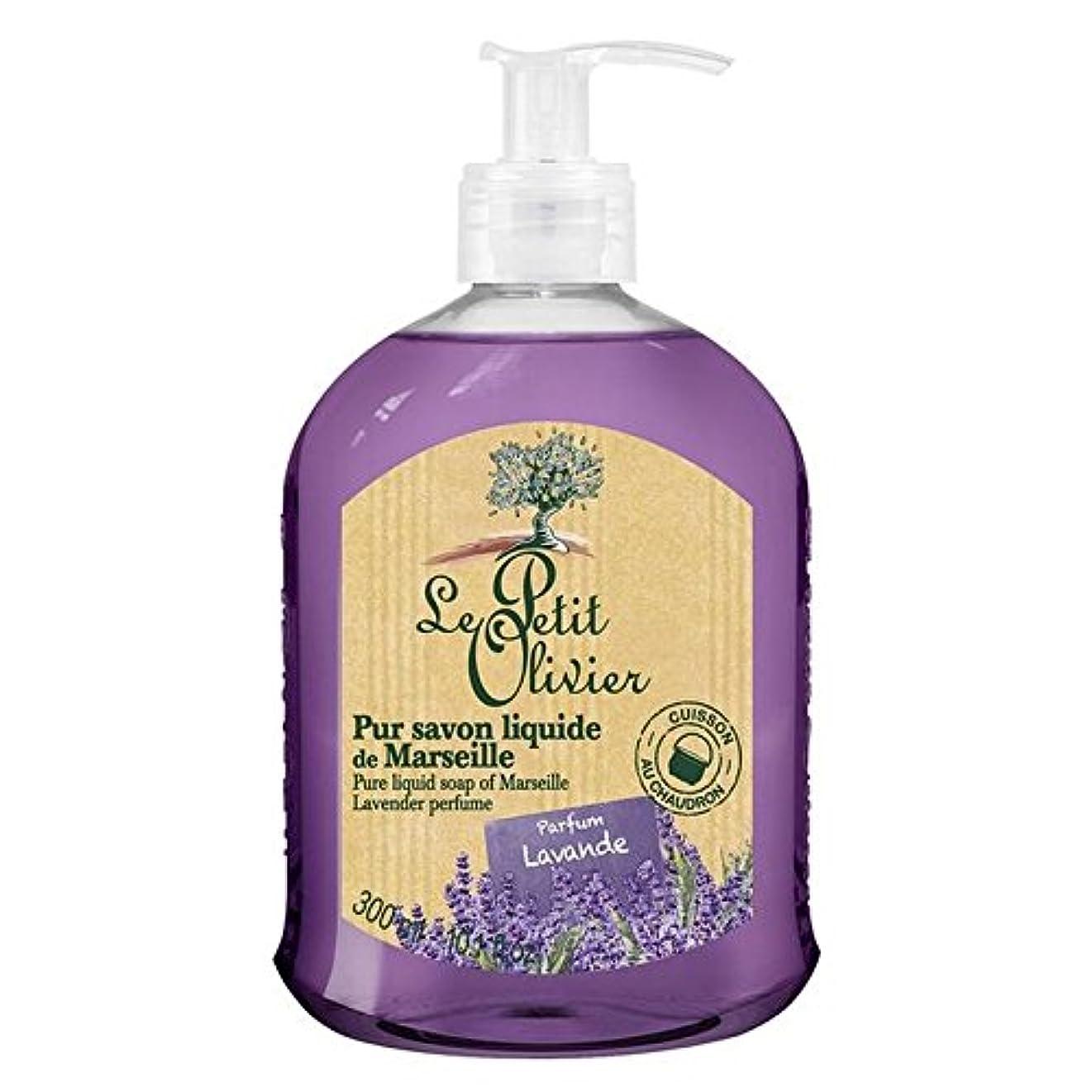 ながらジム疑問を超えてLe Petit Olivier Pure Liquid Soap of Marseille, Lavender 300ml (Pack of 6) - マルセイユのル?プティ?オリヴィエ純粋な液体石鹸、ラベンダー300...