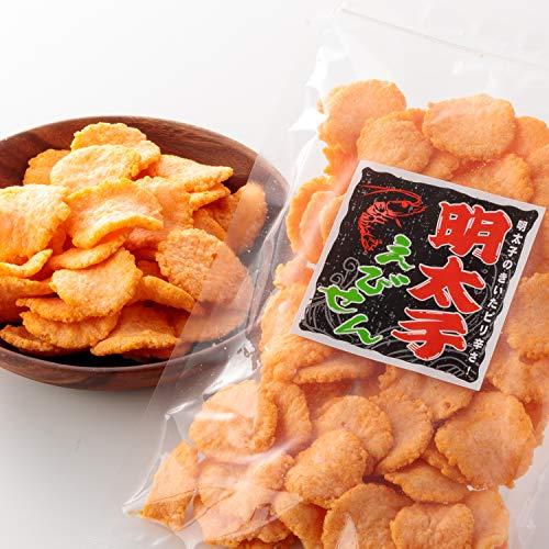 明太子 えびせん 業務用 お菓子 おつまみ えびせんべい 珍味 海老 煎餅 (80g×4袋入)