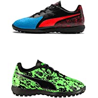 Official Brand Puma One 19.4 Astro Turf Football Trainers Childs Soccer Shoes Sneakers