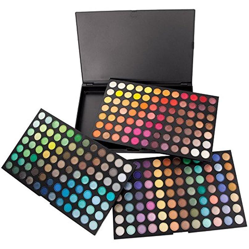 MakeupAccプロ仕様252色アイシャドウパレット 高品質 ラメ マット 3プレート 発色が素晴らしい アイメイクパレット 持ち運びに便利なメイクアップツール 化粧セット【並行輸入品】