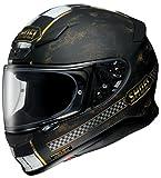 ショウエイ(SHOEI) バイクヘルメット フルフェイス Z-7 TERMINUS【ターミナス】 TC-9 (BLACK/GOLD) XL (頭囲 61cm)