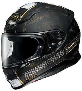 ショウエイ(SHOEI) バイクヘルメット フルフェイス Z-7 TERMINUS【ターミナス】 TC-9 (BLACK/GOLD) S (55cm)