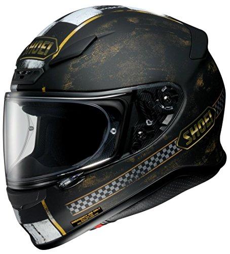 ショウエイ(SHOEI) バイクヘルメット フルフェイス Z-7 TERMINUS【ターミナス】 TC-9 (BLACK/GOLD) L (頭囲 59cm)