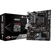 MSI ProSeries AMD Ryzen a320ddr4VR Ready USB 3HDMI Micro - ATXマザーボード(a320m pro-m2)