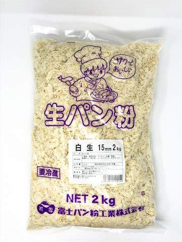 白生パン粉15MM 2kg 3個