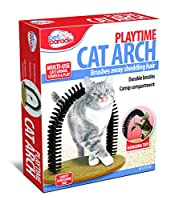 Pet Parade Playtime Cat Arch - Helps prevent hairballs and controls shedding 141[並行輸入]