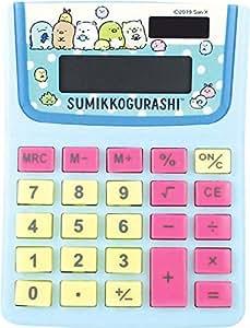 ティーズファクトリー すみっコーデ/ブルー 10×12.5×2.5cm すみっコぐらし キャラ電卓 SG-5523559BL
