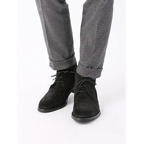 (ザ・スーツカンパニー) BARNI/キップスウェード チャッカーブーツ ブラック 60