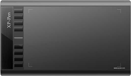 XP-Pen ペンタブ ペンタブレット 12インチ 電池レススタイラスペン 2048レベル筆圧 8個エクスプレスキー 黒 Star03B