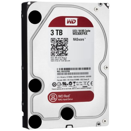 【Amazon.co.jp限定】WD HDD 内蔵ハードディスク 3.5インチ 3TB Red  WD30EFRX-DS/N / IntelliPower / SATA3.0 / 3年保証 / FFP