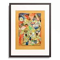 パウル・クレー Paul Klee 「Schiffsternenfest」 額装アート作品