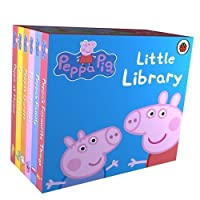 Peppa Pig Little Library 6 Books for Little Hands by Genuine Peppa! [並行輸入品]