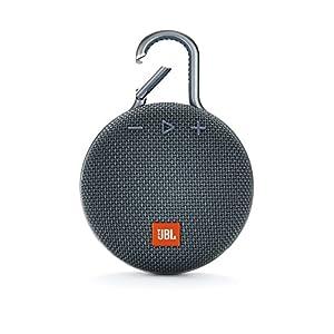 JBL CLIP3 Bluetoothスピーカー IPX7防水/パッシブラジエーター搭載/ポータブル/カラビナ付 ブルー JBLCLIP3BLU 【国内正規品/メーカー1年保証付き】