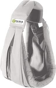 (ケラッタ) 新生児 ベビースリング 成長に合わせて使える6WAY 抱っこひも 日本正規品(国内安全基準適合品)(パールグレー)