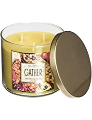 Bath & Body Works Gather Marshmallow Fireside White Barn Scented Candle 3 Wick 14.5 Oz Limited Edition 2015 by...