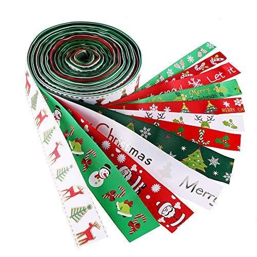 クリスマス リボン ラッピング プレゼント包装 装飾用 手芸材料 可愛い (ラッピング)