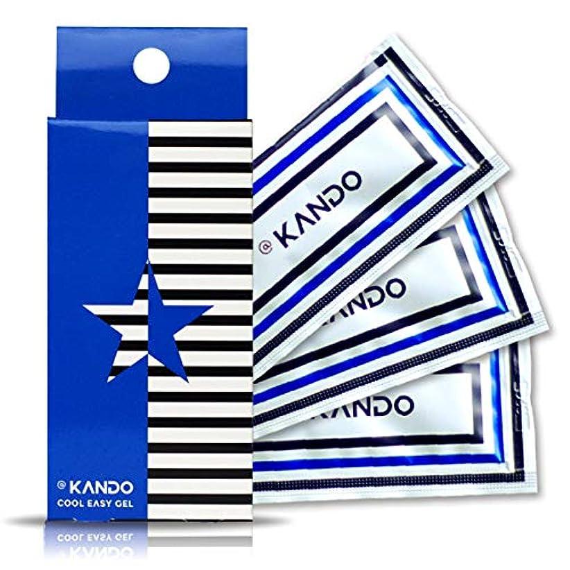 虫を数える試験持つ@KANDO アットカンドクールイージージェル(ボディマッサージジェル)5g×3包入 冷感タイプ