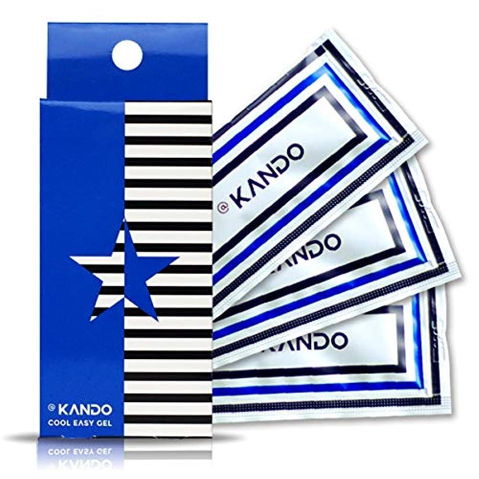 遵守するトレッドオーナメント@KANDO アットカンドクールイージージェル(ボディマッサージジェル)5g×3包入 冷感タイプ