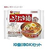 【農心】ふるる冷麺 辛口ビビン冷麺 159g X10個(1BOX)