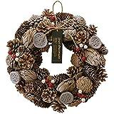 グリーンハウス リース クリスマスナチュラルリース CM916-A L アッシュクリスマス