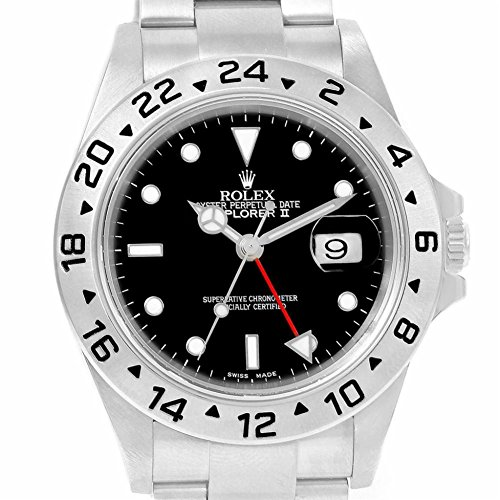 Rolex Explorer II automatic-self-windメンズ時計16570 (認定pre-owned )