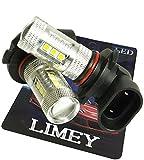 (ライミー)LIMEY NEWカラー!  新型 LED フォグ バルブ HB4 80W 美光イエロー CREE製 3535SMDチップが黄色に発光するからフィルムカバーより奇麗な発色 プレミアム光 3000K 2個入り 【保証書付き】 L-HB4YF80W