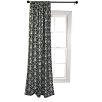 Trend Lab Waverly Rise and Shine Window Drape, Black/White by Trend Lab