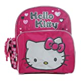 Small Backpack - Hello Kitty - Pink Lonely Hearts School Bag New 628581