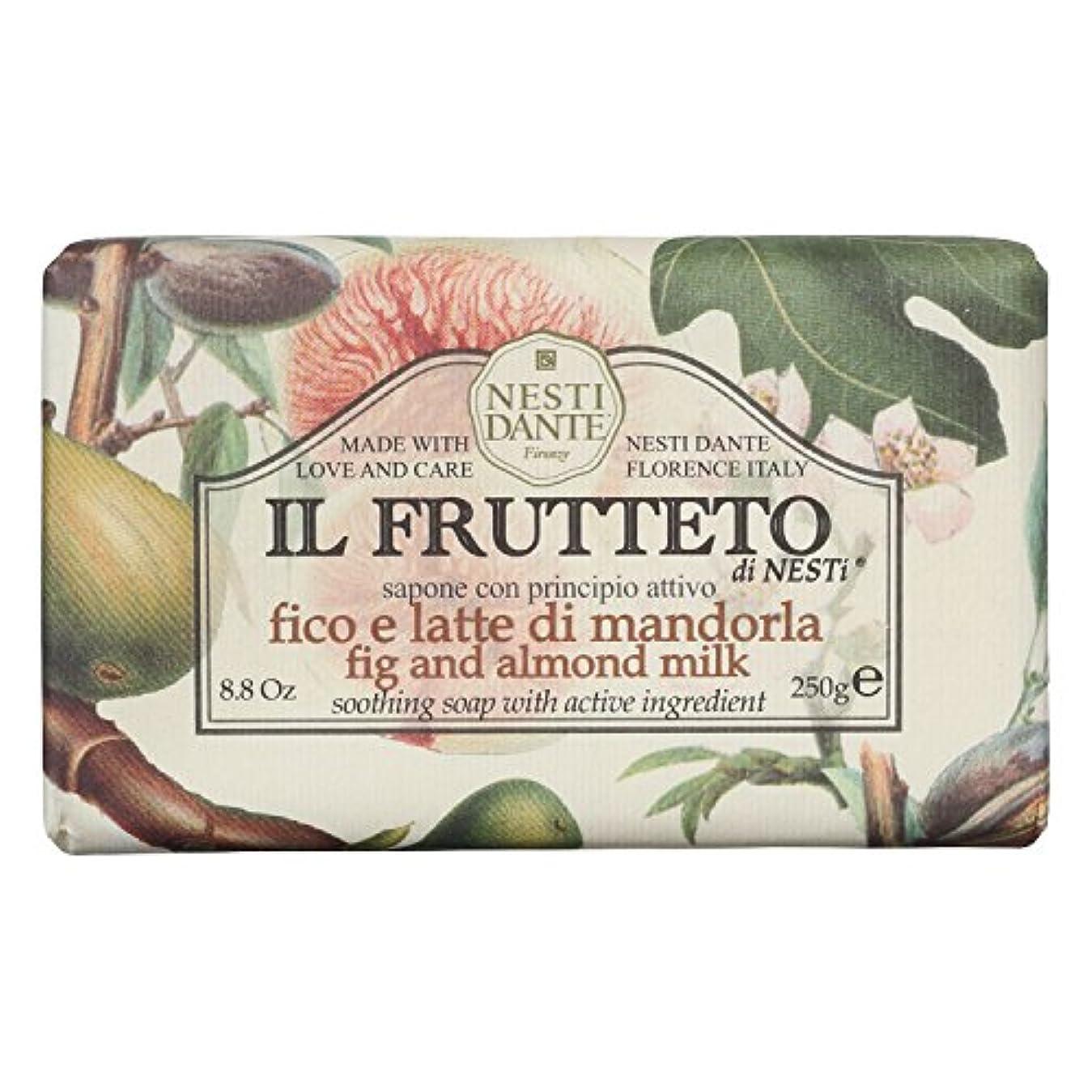 曖昧な壊すはちみつネスティダンテ (Nesti Dante) フルッテートソープ フィグ&アーモンドミルク 250g