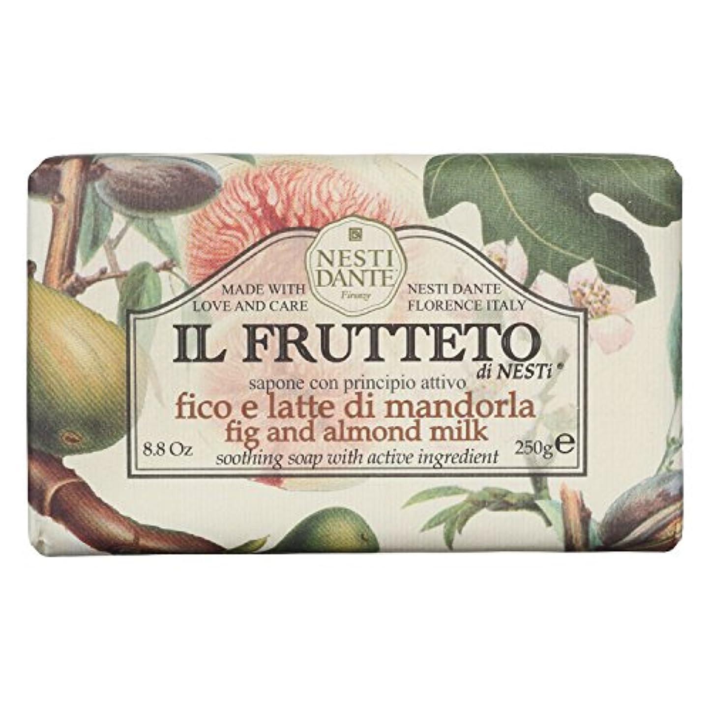 出発する不調和真実にネスティダンテ (Nesti Dante) フルッテートソープ フィグ&アーモンドミルク 250g