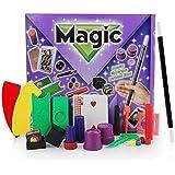 SUGE クローズアップステージの魔法の小道具セットギフトボックス大人子供魔法のおもちゃギフト(11種類を含む)