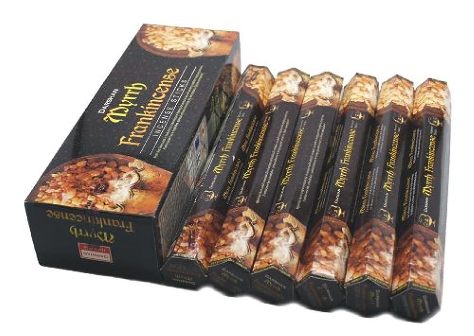 満了胃蒸気Frankincense & Myrrh - 120 Sticks Box - Darshan Incense