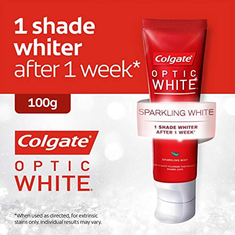 着陸賞触手コールゲート オプティック ホワイト スパークリングシャイン 100g 歯磨き粉 Colgate Optic White Sparkling Shine 100g Tooth Paste