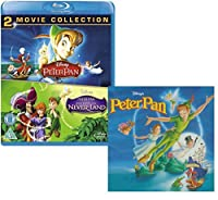 Peter Pan (I and II) - Walt Disney Movie and Soundtrack Bundling - Blu-ray and CD【DVD】 [並行輸入品]
