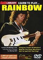 Lick Library: Learn To Play Rainbow / リック・ライブラリ:ラーン・トゥ・プレイ・レインボウ ギター 2 x DVD (リージョン 0)