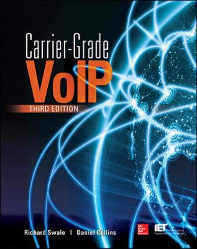 Download Carrier Grade Voice Over IP, Third Edition 0071827714