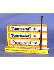 Panchavati Dhoop Sticks Small Incense 48 Boxes x 10 = 480 Sticks