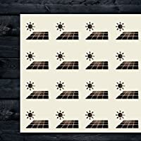 Solar Energy Craft ステッカー 44枚 1.5インチ スクラップブック パーティー シール DIYプロジェクト アイテム52410