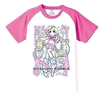 (シシュンキマーブル) 思春期マーブル セーラー服はBDUTシャツ (S, ピンク袖)